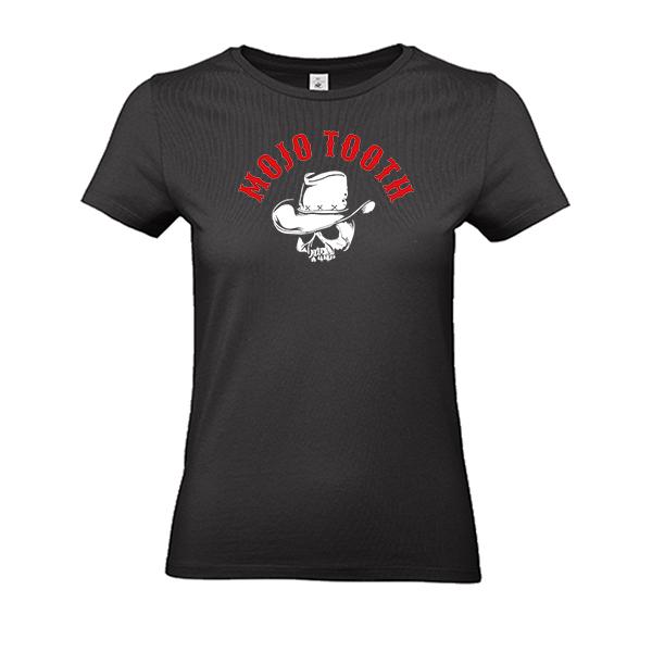 Mojo Tooth Damen Shirt schwarz