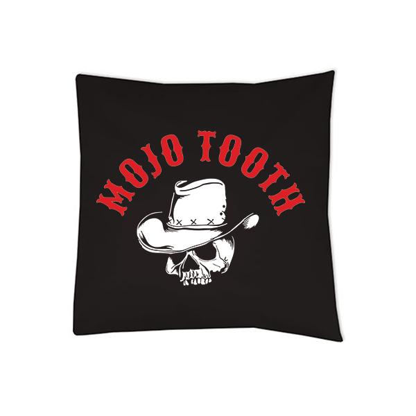 Mojo Tooth Kissen schwarz