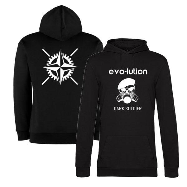 evo-lution Hoodie Dark Soldier