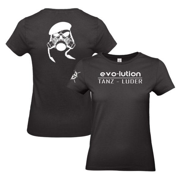 evo-lution Damen Shirt Tanz-Luder
