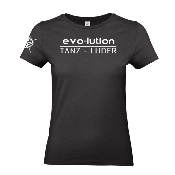 evo-lution Damen Shirt Tanz-Luder Front