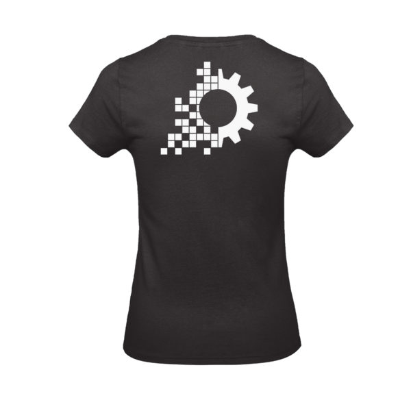 evo-lution Damen Shirt EBM-Maus Back