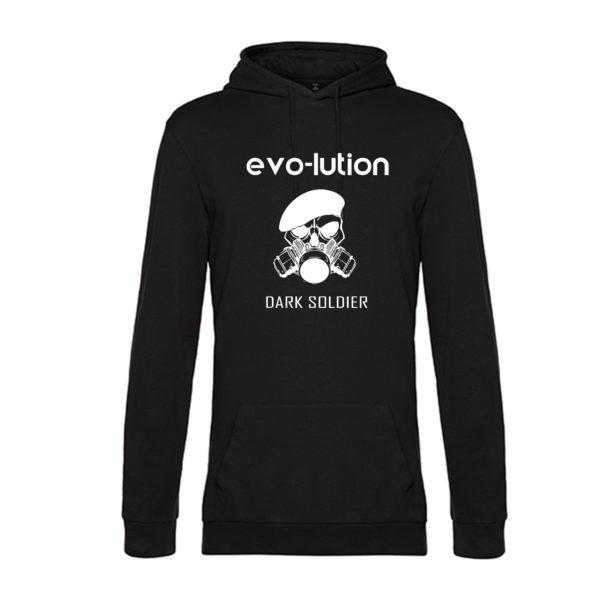 evo-lution Hoodie Dark Soldier Front